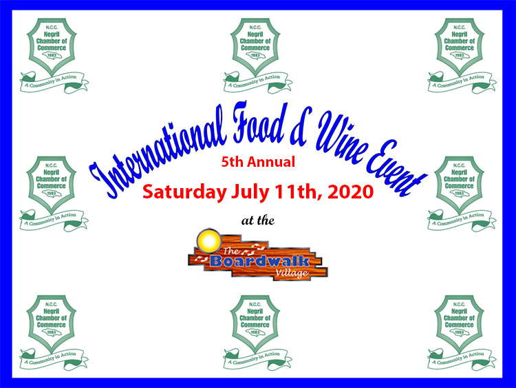 Negril Chamber of Commerce International Food & Wine Event 2020